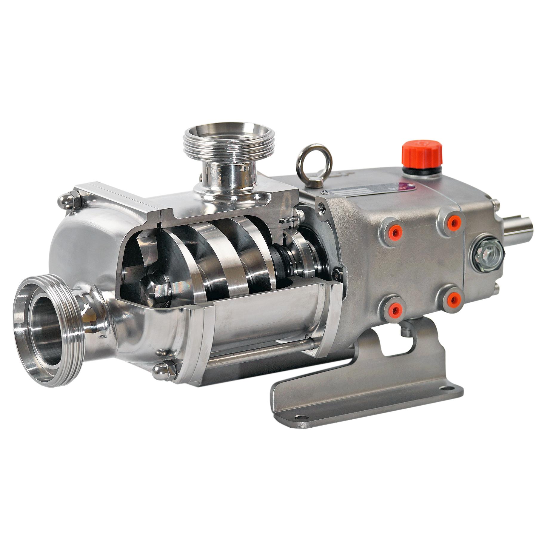 Sanitære skruespindel pumper