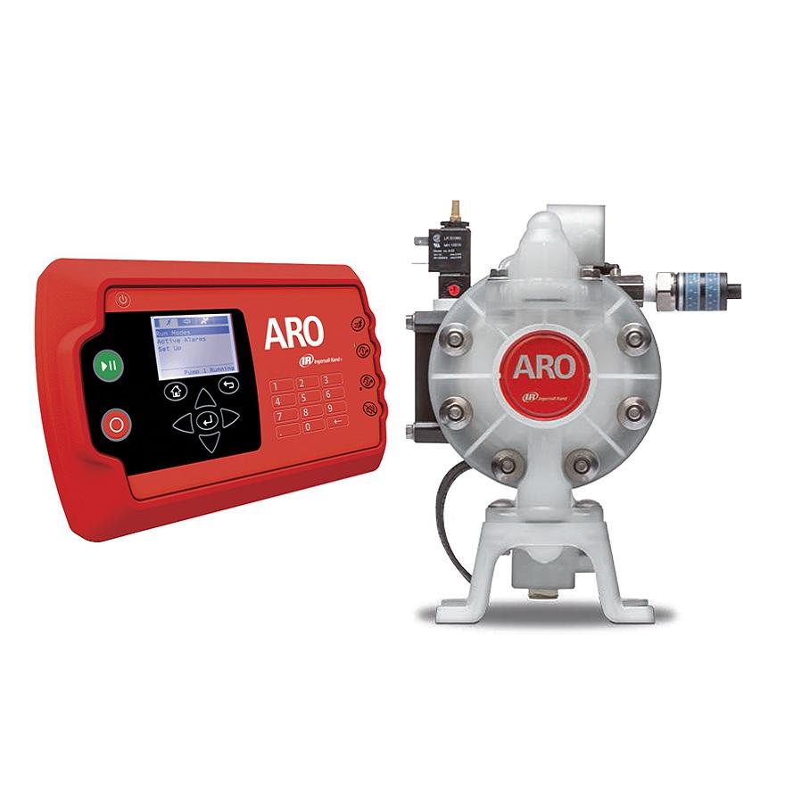ARO styring & Elektronisk Interface pumper