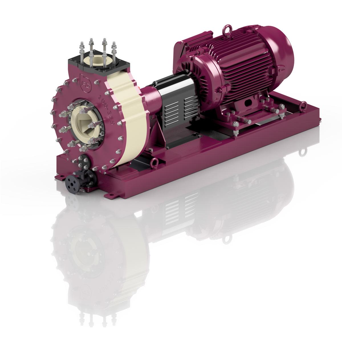 Horisontale centrifugal pumper
