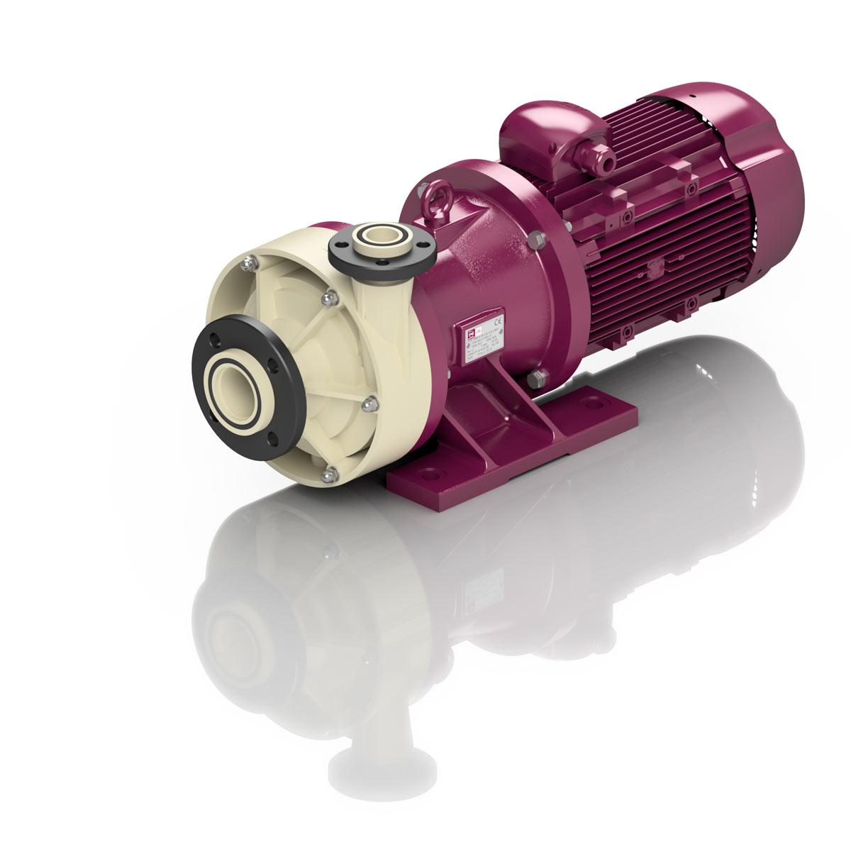 Magnet koblede pumper