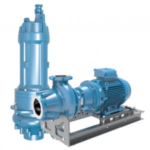 Skruecentrifugal pumper