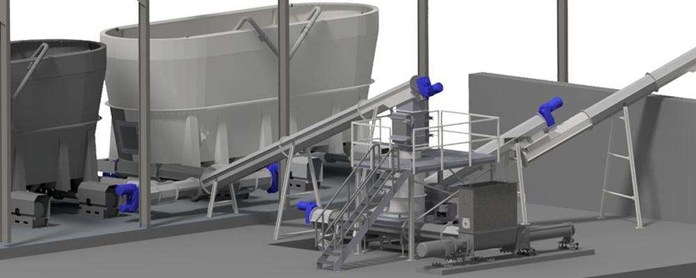 Ny indfødningslinje for halm og dybstrøelse ved Sønderjysk Biogas