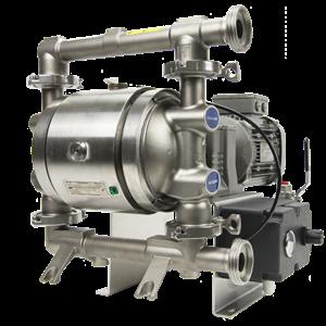 Verderair VA-EH serie sanitære eldrevne membranpumper