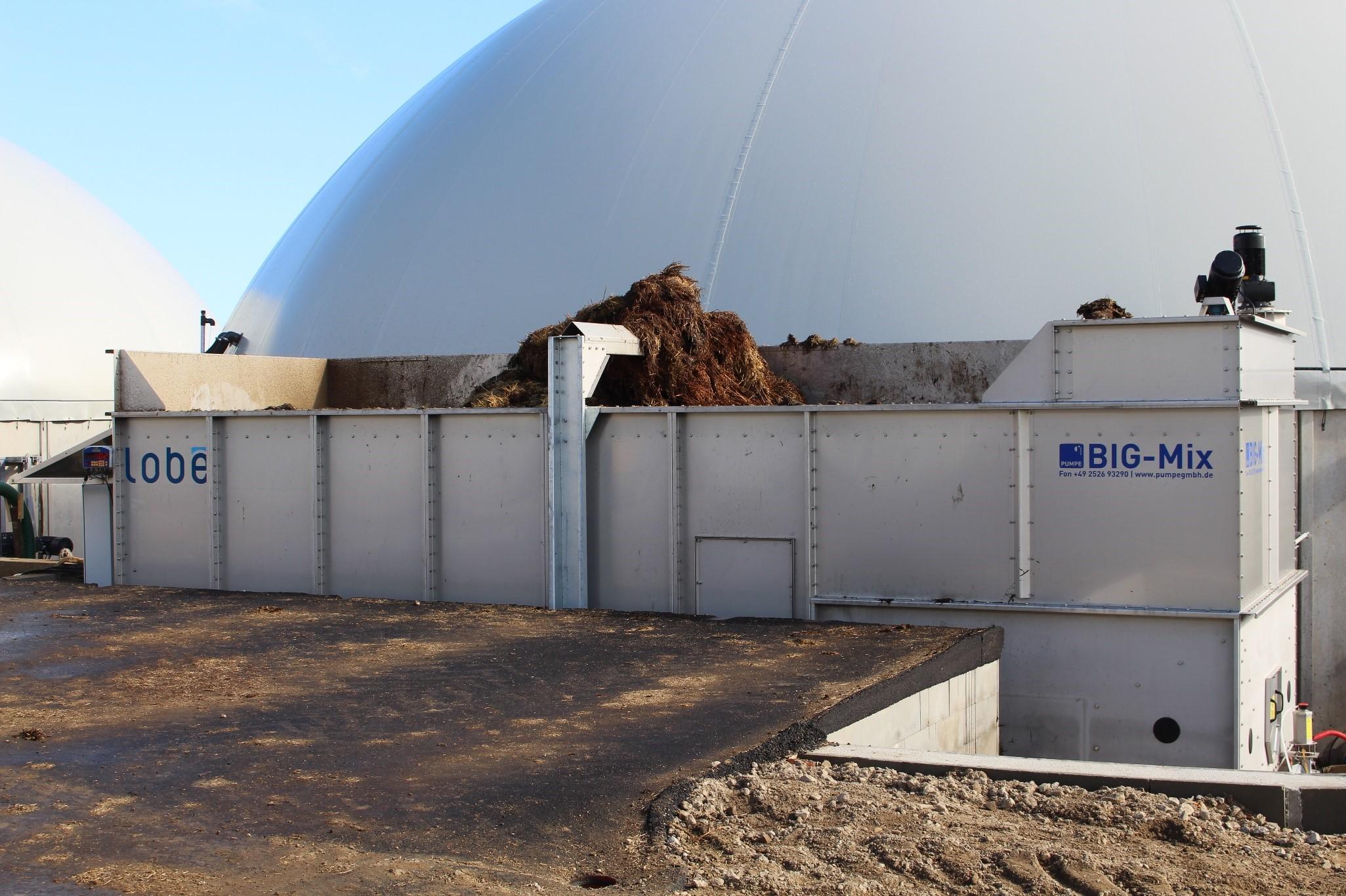Nyt indfødningssystem til nyt gårdbiogasanlæg i Kværs