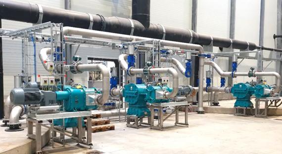 Nye pumpe-sæt med neddelere for Linkogas a.m.b.a